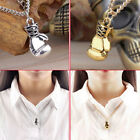 Fashion Men's Women's Stainless Steel Boxing Glove Pendant Necklace Chain TBUS