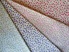 Sale ditsy floral fabric pink red blue purple 100% cotton metre and fat quarters