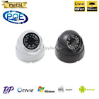 PoE Outdoor Dome IP Camera 1080P 2Mp Home Security 24Leds IR Night Vision IP66