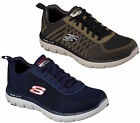 Mens Skechers Flex Advantage 2.0-Golden Point Casual Trainers Sizes 7 to 13