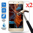 2 Pcs 9H Premium Tempered Glass Screen Protector Film For Lenovo Cell Phone