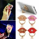 Mobile Phone Grip Holder Stand Finger Lip Ring Metal For Cell Phone Universal