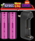 Efest 18650 2900mAh 35A Flat-Top High-Drain IMR lot Rechargeable Battery 3.7v