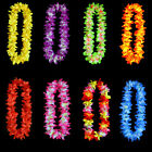 Hawaiian Flower leis Garland Necklace Colorful Party Hawaii Beach 8 Colors  LACA