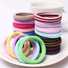 10pcs Women Elastic Hair Ties Band Ropes Ring Ponytail Holder Accessories LACA