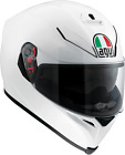Agv Unisex Pearl White K5 Full Face Motorcycle Riding Street Racing Helmet