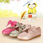 Hot Princess Girls Kids Baby Party Dress Casual Sandals Buckle Flat Heels Shoes