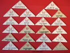 VINTAGE CARAVAN CLUB BADGES - EAST WARKS -  ALL LISTED WITH PHOTO'S LOT 15