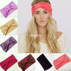 New women fashion lady tie summer casual solid hair Band headwrap Hairband  tie