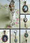 MARY POPPINS CHARM NECKLACE PENDANT OR KEYRING SPOONFUL SUGAR BOTTLE SWEEP