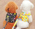 nylon Pet Dog Puppy apparel Adjustable Leash Lead Collar Harness