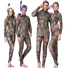 Men Women Camouflage Hooded Neoprene Scuba Jellyfish Full Wetsuits Surfing Dive