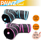 Pet Cat Tunnel Outdoor Arctic 3 WAY Y Shape Foldable Kitty Rabbit Play Toy
