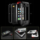Heavy Duty Armor Shockproof Tough Hybrid Metal Anti Shock Proof Case For iPhone