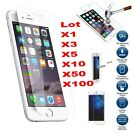 Premium Screen Protector Premium Tempered Glass Protective Film For iPhone Lot