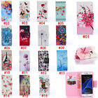 PU Leather Flip Wallet Case Cover For Samsung Galaxy J1 Note 4 A3 S5 S6 S3 S4