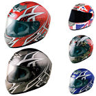 Box BX-1 Samurai Web Full Face Scooter Crash Motorbike Motorcycle Helmet Graphic