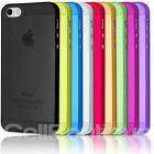 Ultra Slim Grip Back Case Cover For Apple iPhone 4s 5s 6s SE 5c 7 8 X Plus