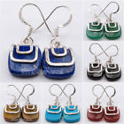 925 Sterling Silver STYLISH Earrings ! Natural Stones Discount Jewelry Brand New