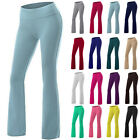 Yoga Pants Womens Athletic Foldover Stretch Gym Casual Comfy Soft Lounge 2017