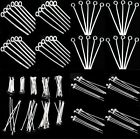 Wholesale 100Pcs Silver Plated Ball Head Eye Pins Jewelry Finding 16/20/30/40/50