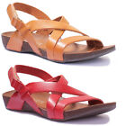 Justin Reece 7190 Womens Leather Matt Sandals