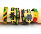 Tricolor PU Bracelet Bangle For Djembe Performance With Box