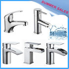 Modern Basin Sink Mono Mixer Tap Bathroom Single Lever Brass Chrome Tap