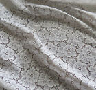 Various OFFCUTS of 132cm Wide Pretty Nylon/Polyester Lace Fabric