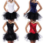 One Shoulder Corset and Skirts With Floral Strip Hen Party Costume  Shapewear