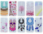 Cute Patterned Crystal Soft TPU Rubber Case Cover For Huawei Mate 9 P10 P8 Lite