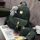 New Women's Girls Backpack Travel Leather Handbag Rucksack Shoulder School Bag