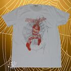 New Marvel Spider-Man Mens Vintage Web Throwback T-Shirt