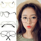 Fashion Women Men Sunglasses Spectacle Frame Lenses Plain Mirror Glasses New