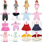 Handmade Clothes Party Dress Skirt Pajamas For 18inch American Girl Doll Hot