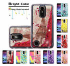 LG PHONE MODELS BLING HYBRID LIQUID GLITTER SLIM RUBBER PROTECTOR CASE COVER