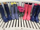 JOULES Fold Away Wellies Sz 5 Festivals Beach FreeUKP&P