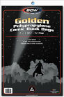 BCW: Comic Bags: GOLDEN or GOLDEN-THICK Size:  600 count   *FREE SHIPPING in USA