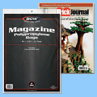 BCW: Magazine or Mag-Thick Size RESEALABLE Bags: 2 Pks (100ea) *FREE SHIP in USA