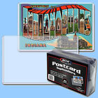 BCW: Rigid Toploaders: POSTCARD SIZE:  25ct:  1 Pack 25 per pk *FREE S&H in USA