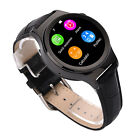 "S3 1.22"" Bluetooth Smart Watch Band Heart Rate Phone Mate for Android IOS Black"