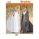 Simplicity SEWING PATTERN 1551 Misses Medieval Fantasy Costume 8-14 Or 16-24