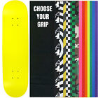 """Skateboard Deck Pro 7-Ply Canadian Maple NEON YELLOW With Griptape 7.5"""" - 8.5"""""""
