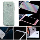For Samsung galaxy Glitter Bling Full Body Skin Sticker Protector Case Cover