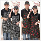 Apron Suit  Baseball Cap/Set Chef Kitchen Men Women Cafe Commercial Restaurant