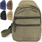 Mens / Ladies Work / Travel 100% Canvas Holiday / Summer Backpack / Rucksack