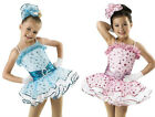 NEW 'Happy Face' Tap Jazz Ballet Dance Skating Pageant OOC Competition Costume