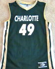CHARLOTTE 49ERS YOUTH BASKETBALL JERSEY NCAA #49 NEW! YOUTH SMALL OR MEDIUM