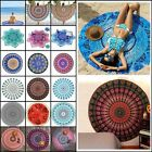 Boho Tapestry Beach Throw Towel Mandala Round Indian Hippie Mat Picnic Blanket