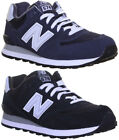 New Balance M574 Mens Suede Leather Running Trainers